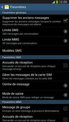 Samsung I9205 Galaxy Mega 6-3 LTE - SMS - configuration manuelle - Étape 8