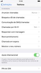 Apple iPhone 6s - iOS 12 - Segurança - Como ativar o código PIN do cartão de telemóvel -  4