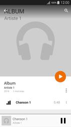 Samsung Galaxy A5 (A500FU) - Photos, vidéos, musique - Ecouter de la musique - Étape 10