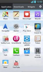 LG E460 Optimus L5 II - WiFi - Handmatig instellen - Stap 4