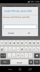 Sony Xpéria E3 - Sécuriser votre mobile - Personnaliser le code PIN de votre carte SIM - Étape 8