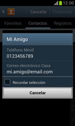 Samsung S7560 Galaxy Trend - Mensajería - Escribir y enviar un mensaje multimedia - Paso 7