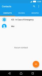 Sony Xperia M4 Aqua - Contact, Appels, SMS/MMS - Ajouter un contact - Étape 4