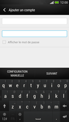 HTC One - E-mail - Configuration manuelle - Étape 8