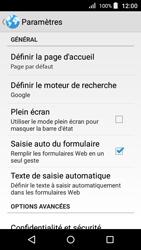 Acer Liquid Z330 - Internet - Configuration manuelle - Étape 22