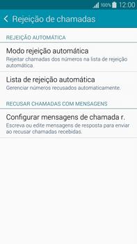 Samsung N910F Galaxy Note 4 - Chamadas - Como bloquear chamadas de um número específico - Etapa 9