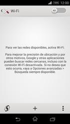 Sony D2203 Xperia E3 - WiFi - Conectarse a una red WiFi - Paso 5