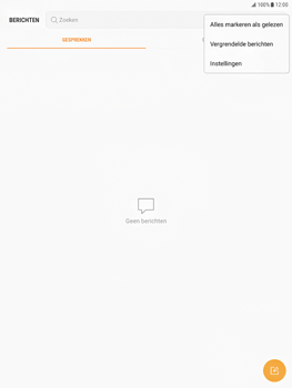 Samsung Galaxy Tab S2 9.7 - Android Nougat - SMS - Handmatig instellen - Stap 5
