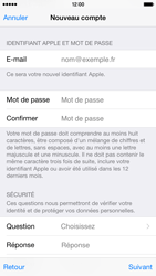 Apple iPhone 6 - Applications - Créer un compte - Étape 13