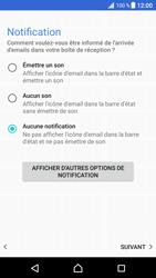 Sony Xperia XZ Premium - E-mails - Ajouter ou modifier un compte e-mail - Étape 22