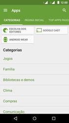 Motorola Moto E (2ª Geração) - Aplicativos - Como baixar aplicativos - Etapa 6