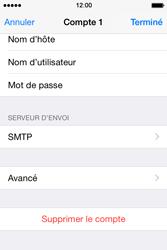 Apple iPhone 4S (iOS 8) - E-mails - Ajouter ou modifier un compte e-mail - Étape 17