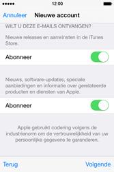 Apple iPhone 4S met iOS 8 (Model A1387) - Applicaties - Account aanmaken - Stap 19