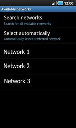Samsung I9000 Galaxy S - Network - Usage across the border - Step 8