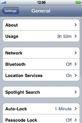Apple iPhone 3G - Bluetooth - Pair with another device - Step 4