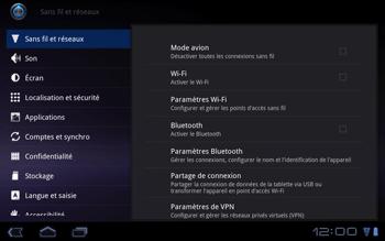 Huawei Mediapad S7-301u - Internet - Configuration manuelle - Étape 4