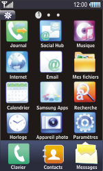 Samsung S8500 Wave - Messagerie vocale - configuration manuelle - Étape 4
