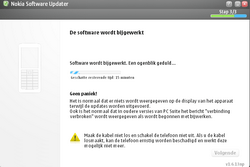 Nokia E65 - Software - Update installeren via PC - Stap 18