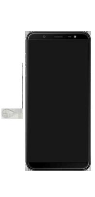 Samsung Galaxy J8 - Primeiros passos - Como inserir o chip da Nextel no seu celular - Etapa 2