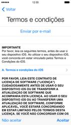 Apple iPhone iOS 7 - Primeiros passos - Como ativar seu aparelho - Etapa 17
