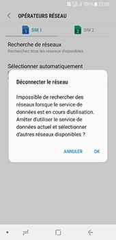 Samsung Galaxy A8 (2018) - Réseau - Sélection manuelle du réseau - Étape 9