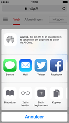 Apple iPhone 5s iOS 8 - Internet - Internet gebruiken - Stap 17