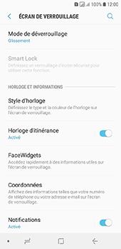 Samsung Galaxy A6 - Sécuriser votre mobile - Activer le code de verrouillage - Étape 5