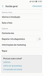 Samsung Galaxy A5 (2017) - Repor definições - Como repor definições de fábrica do telemóvel -  6