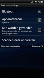 Sony Ericsson Xperia Arc S - Bluetooth - koppelen met ander apparaat - Stap 9