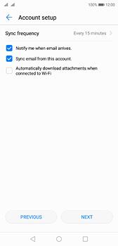 Huawei P20 - E-mail - Manual configuration (yahoo) - Step 7