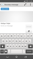 Sony Xpéria T3 - Contact, Appels, SMS/MMS - Envoyer un MMS - Étape 9