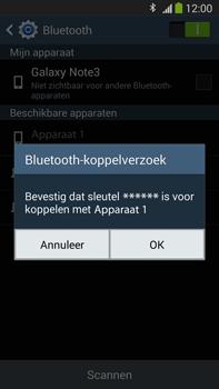 Samsung N9005 Galaxy Note III LTE - Bluetooth - koppelen met ander apparaat - Stap 9