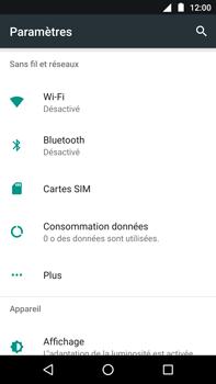 Motorola Moto Z Play - Réseau - Utilisation à l