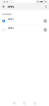 Huawei Mate 20 Pro - Internet - handmatig instellen - Stap 16