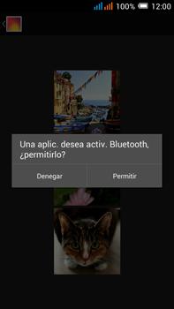 Alcatel Pop C9 - Bluetooth - Transferir archivos a través de Bluetooth - Paso 12