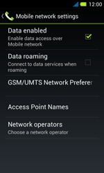 Acer Liquid Z4 - Internet - Enable or disable - Step 6
