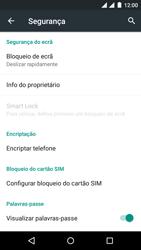 Wiko Rainbow Jam DS - Segurança - Como ativar o código PIN do cartão de telemóvel -  5