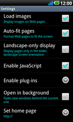 LG P990 Optimus 2X Speed - Internet - Manual configuration - Step 14