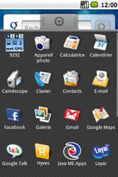 Samsung I5700 Galaxy Spica - E-mail - Configuration manuelle - Étape 3