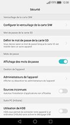 Huawei Nova - Sécuriser votre mobile - Personnaliser le code PIN de votre carte SIM - Étape 6