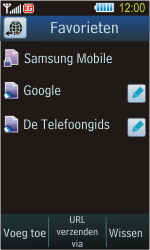 Samsung S8300 Ultra Touch - Internet - Hoe te internetten - Stap 10
