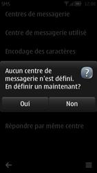 Nokia 700 - SMS - Configuration manuelle - Étape 7
