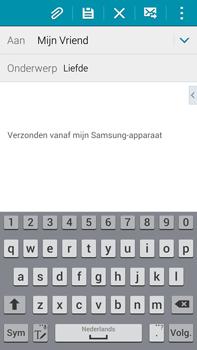 Samsung N910F Galaxy Note 4 - E-mail - hoe te versturen - Stap 9