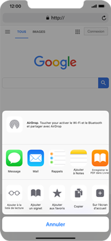 Apple iPhone XR - Internet - Navigation sur Internet - Étape 5