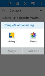 Samsung G388F Galaxy Xcover 3 - E-mail - Sending emails - Step 12