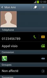 Samsung Galaxy Trend - Contact, Appels, SMS/MMS - Ajouter un contact - Étape 8
