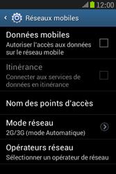 Samsung S6310 Galaxy Young - Internet - activer ou désactiver - Étape 7