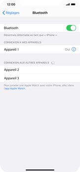 Apple iPhone 11 - Bluetooth - connexion Bluetooth - Étape 8