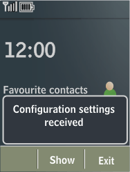 Nokia X3-02 - MMS - Automatic configuration - Step 3