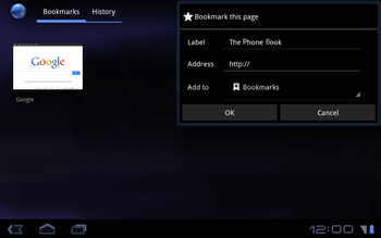 Huawei Mediapad S7-301u - Internet - Internet browsing - Step 8